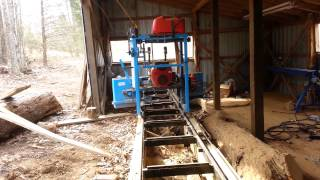 Homemade Ez Boardwalk Sawmill Hydraulic Feed