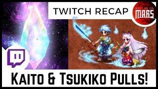 🐋 WHALE 🕰️ TIME! Kaito & Tsukiko Pulls - Twitch Recap   FFBE