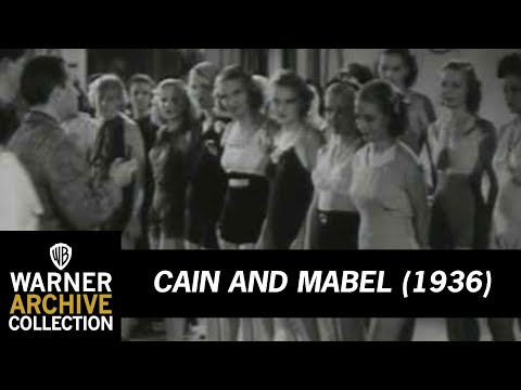 Cain And Mabel (Original Theatrical Trailer)