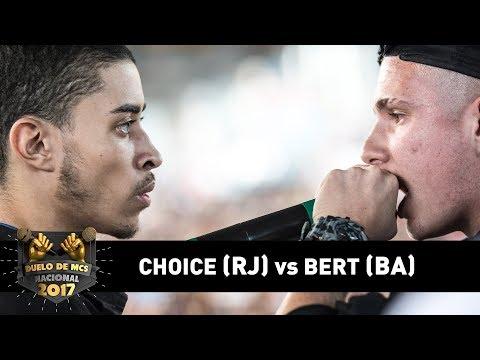 Bert [BA] vs Choice [RJ] (1ªFase) - DUELO DE MCS NACIONAL 2017