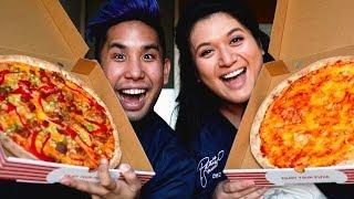 VEGAN PIZZA & YES THEORY STORYTIME | LONDON MUKBANG MONDAY