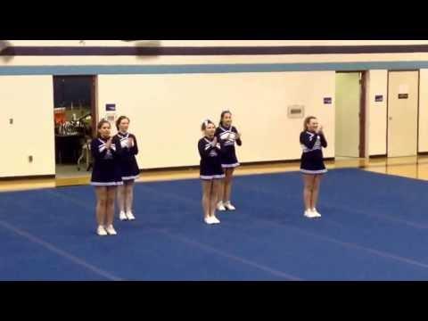 Brethren Middle School cheer leaders 2014
