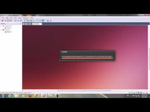 Hướng dẫn cài đặt ubuntu với file iso