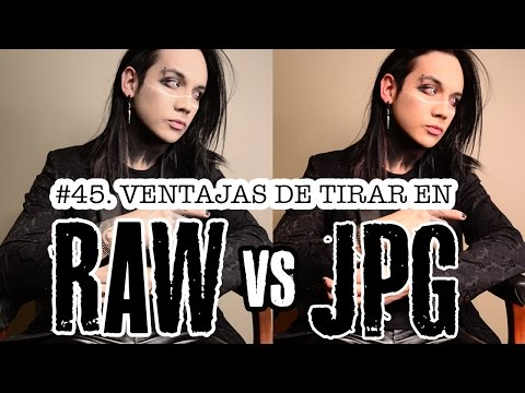 #45. Ventajas de tirar en RAW vs JPG - ALTER IMAGO