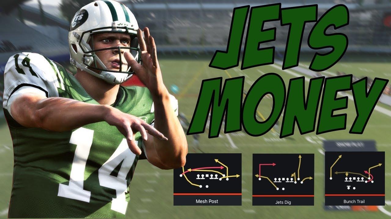 Madden 21 Jets Offense | Free Ebook | Jets Gun Bunch Scheme