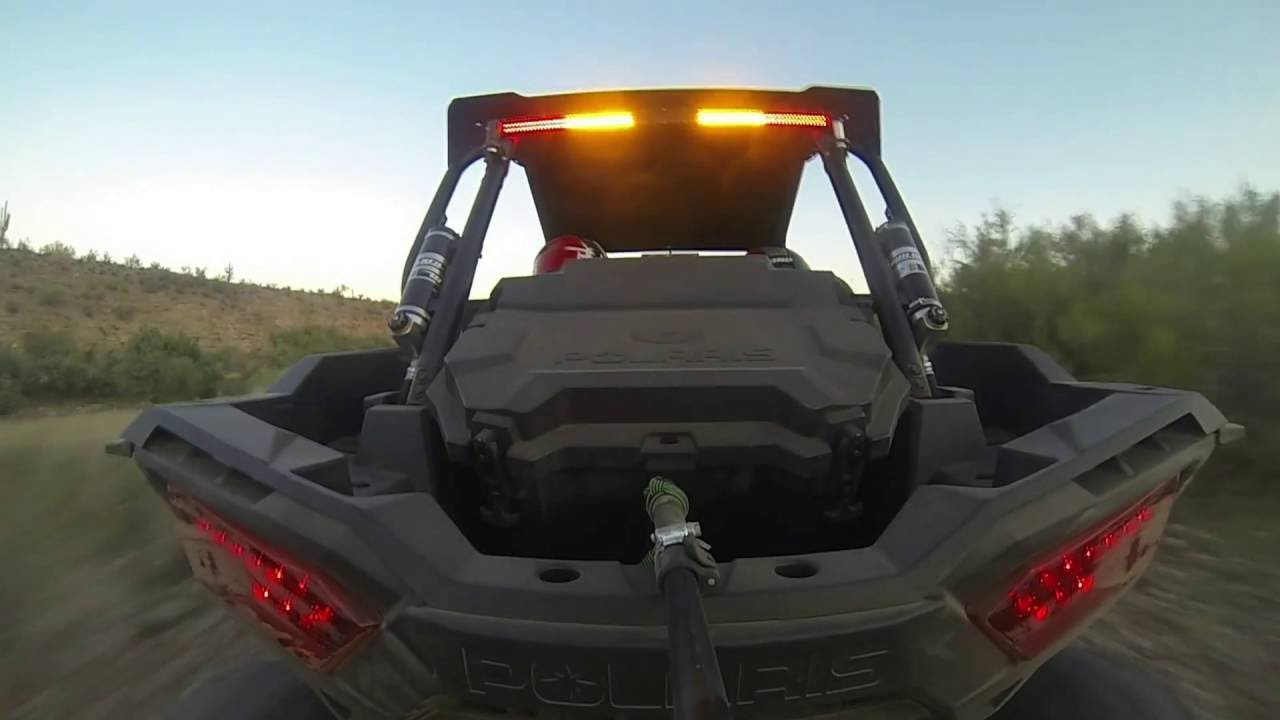 Star Lightbar Rear Chase Light Gx Series Desert Video