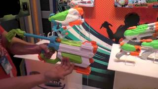 New Nerf Super Soakers for 2015, Zombie Strike Soakers and More. Toy Fair 2015