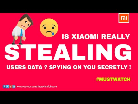 Xiaomi Secretly Stealing User Data , Spying on Users privacy ?? #MustWatch