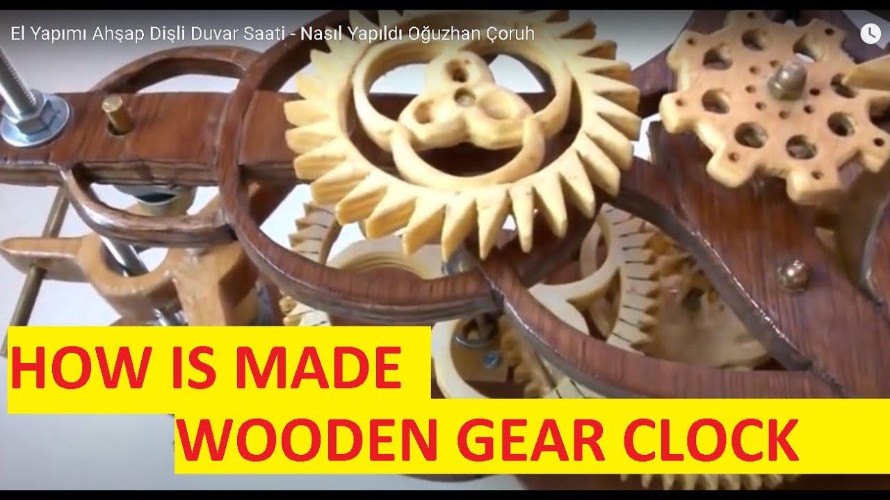 Handmade Wooden Clock Youtube