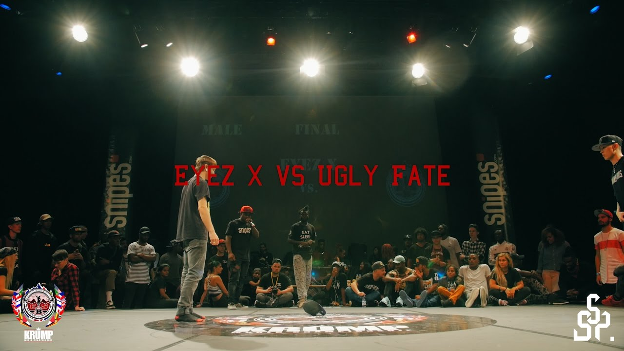 Ugly Fate vs Eyez X | Male Finale | EBS 2016 KRUMP WORLD ...