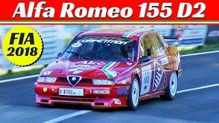 Alfa Romeo 155 D2 ex Superturismo by Samo Competition - FIA Hill Climb Masters Race 2018