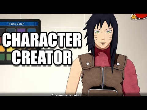 NARUTO TO BORUTO SHINOBI STRIKER - Character Creation