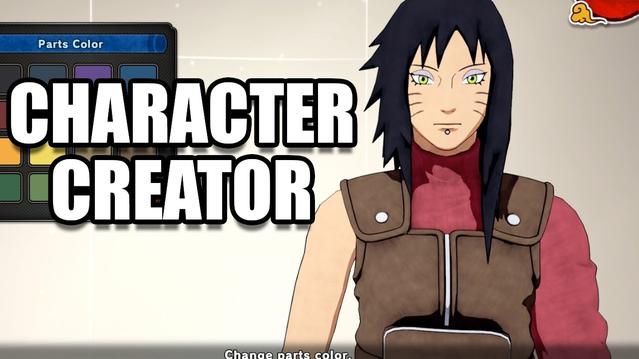 NARUTO TO BORUTO SHINOBI STRIKER - Character Creation / Customization -  Male / Female