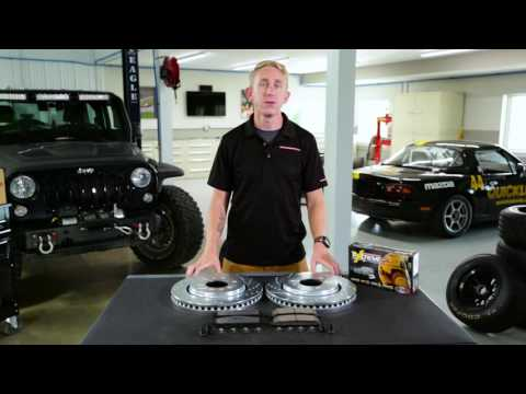 Z36 Truck and Tow Upgrade Brake Kit | PowerStop