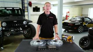 z36 truck and tow upgrade brake kit