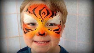 Easy Tiger - Painting Children Under 3 Years Old (Using Kryvaline