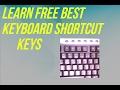 Best Shortcut Keys For Keyboard (Hindi/Urdu)