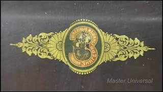 Старая швейная машина компании Зингер. Ремонт. Ч.1. Видео № 557.