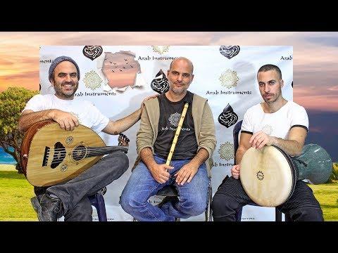 Oud, Darbuka Ney - Arab Instruments Trio - Rast Peşrev Meçhul