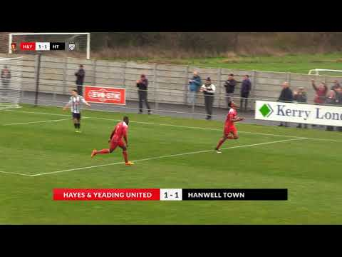 Hayes & Yeading v Hanwell Town - 2nd April 2018