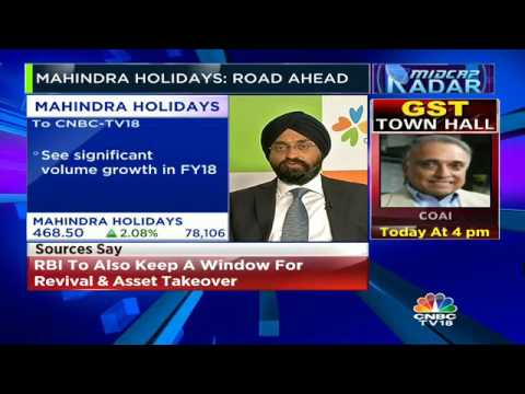 See Significant Volume Growth In FY18: Mahindra Holidays