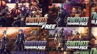 FREE Fortnite Thumbnail Template v4 (Update) | [2019] | SunnyArts