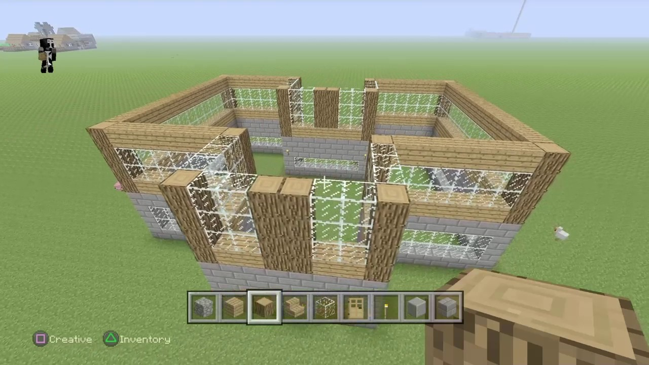 minecraft how to make a mansion step by step