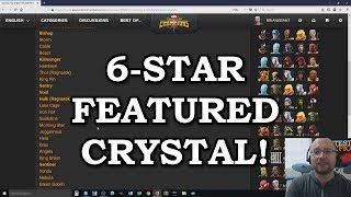 6 Star Featured Crystal Already?! | Marvel Contest of Champions thumbnail