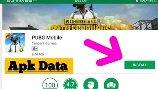 How to install Pubg For Android Device|Apk+Data|Hindi|Mob.org