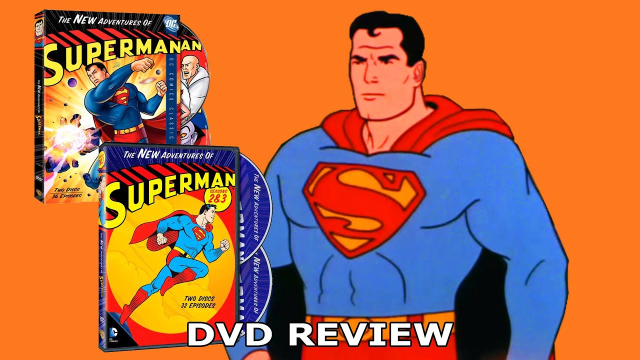 Filmation S The New Adventures Of Superman Collection Dvd
