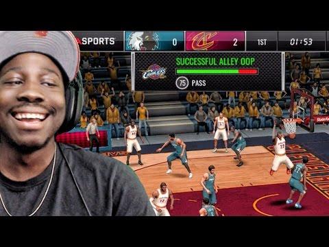 ALLEY-OOP DUNK TUTORIAL (NEW UPDATE!) NBA Live Mobile 16 Gameplay Ep ...