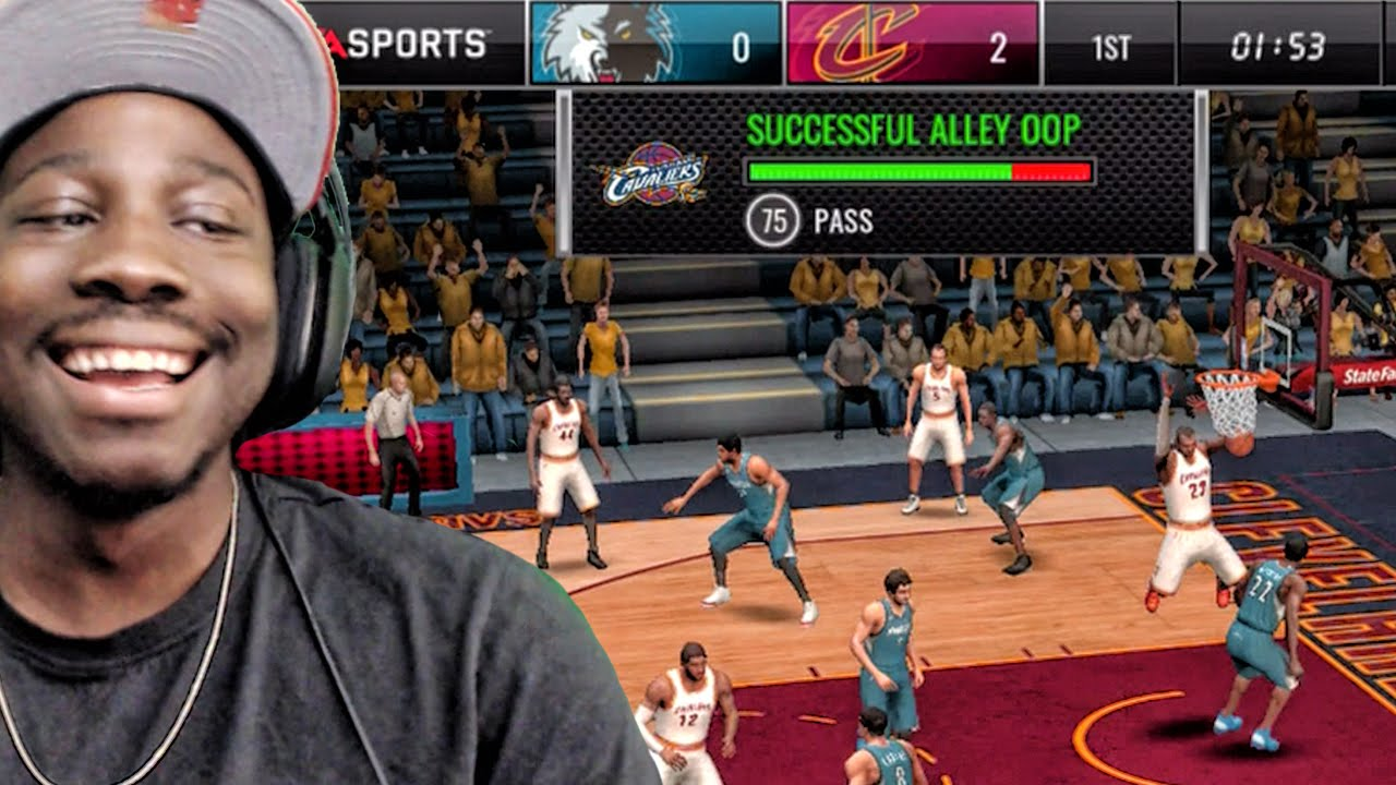 Alley Oop Dunk Tutorial New Update Nba Live Mobile 16 Gameplay Ep 28 Youtube