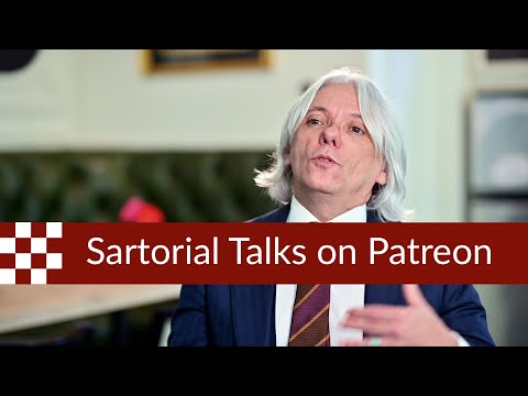 The Future Of Sartorial Talks With Patreon