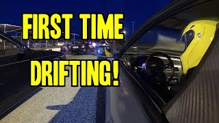 Learning to Drift - Ep. 1 | First Time Drifting!