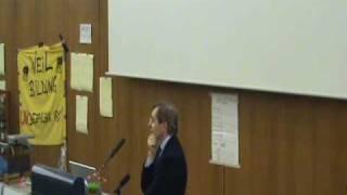 Unibesetzung in Köln! Der Prorektor stört eine Vorlesung 2/2