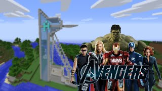 AVENGERS TOWER!! - Türkçe Minecraft Modlu Survival - Sezon 2 Bölüm 1