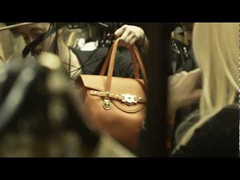 Versace SS13 ADV Campaign  - Backstage
