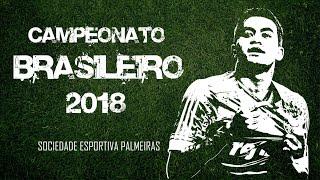 Brasileiro 2018 - Todos os Jogos do Palmeiras (Do 1º jogo até a grande final)