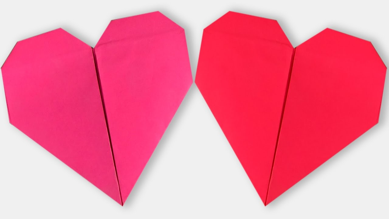 How to make an origami heart step by step paper heart tutorial how to make an origami heart step by step paper heart tutorial origami vtl jeuxipadfo Images