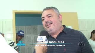 Quixeré - Inauguração CEO - Urânio Nogueira