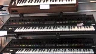 Analogue Synth Specialist Shop Tour ~ Five G Music  @Tokyo, Japan 2004