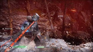 God of War 4 NG+ Baldur Boss Battle vs Power of Zeus Kratos (GMGOW+) GoW 2018 New Game+ Best Armor