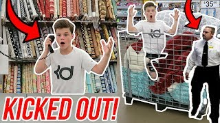 Video TRYING TO GET KICKED OUT OF WALMART! *INTERCOM PRANK* download MP3, 3GP, MP4, WEBM, AVI, FLV November 2017