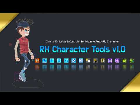 C4D Character controllers for Mixamo-rigged projects! - RH | Keyframes