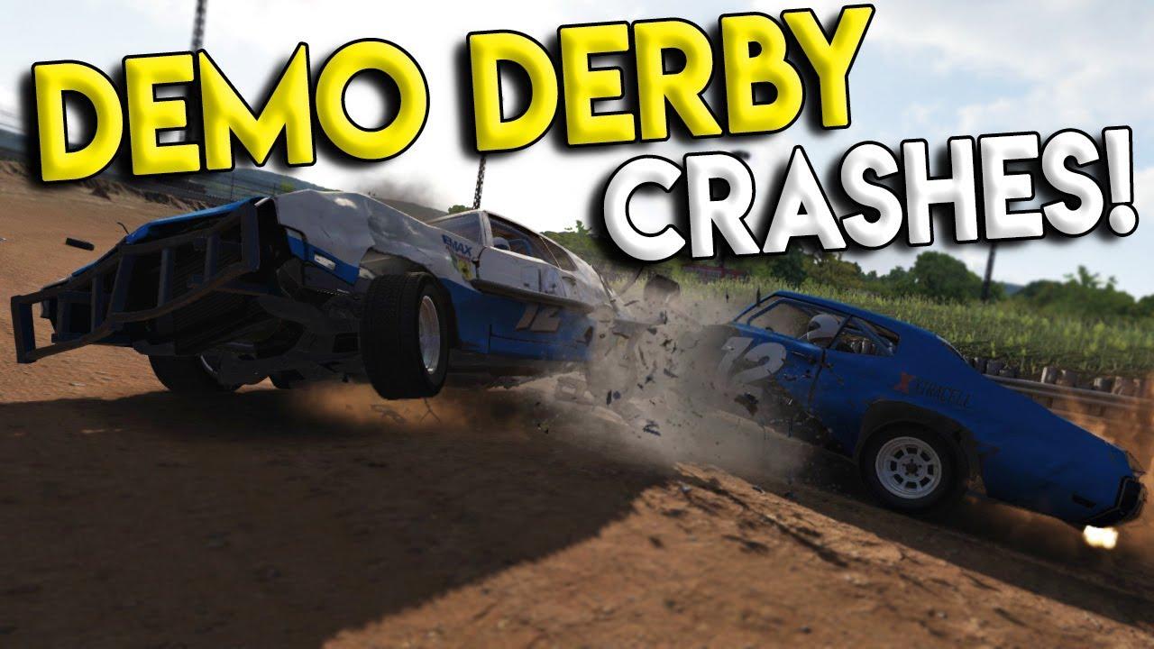 BIGGEST DEMO DERBY CRASHES & RACES!