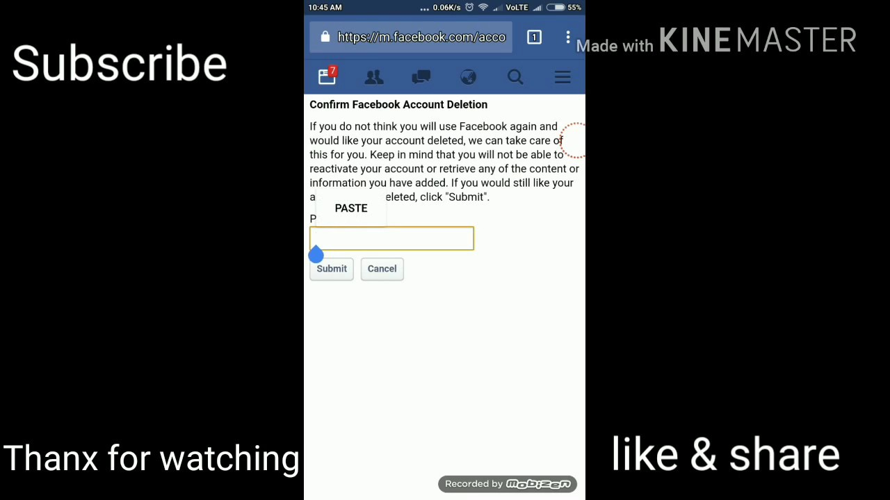How To Delete Facebook Account Permanently Difference Between Deactivate &  Permanent Delete Account
