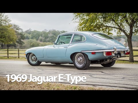 1969 Jaguar XKE 2+2 4-Speed