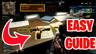 Easiest Guide Unlock Red Room Blueprint Rebirth Island Easter Egg Strategy