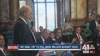 No deal yet to fill $406 million budget hole in Kansas
