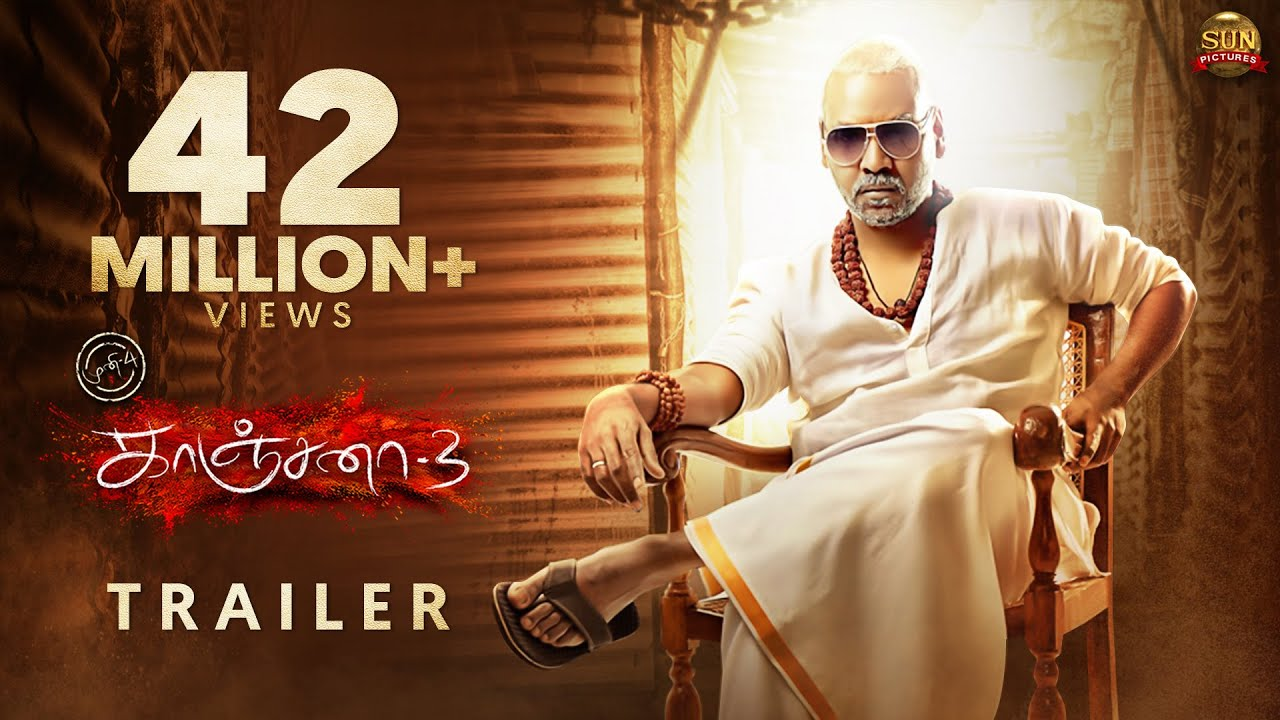 KANCHANA 3 - Official Trailer | Raghava Lawrence | Sun Pictures